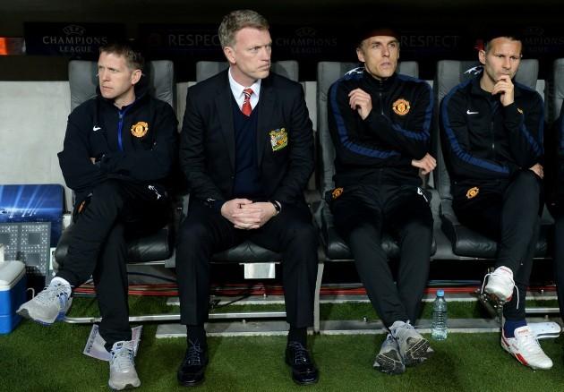Soccer - UEFA Champions League - Quarter Final - Second Leg - Bayern Munich v Manchester United - Allianz Arena