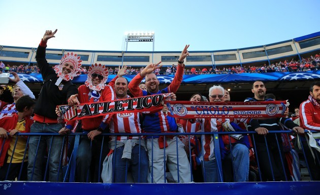 Soccer - UEFA Champions League - Semi Final - First Leg - Atletico Madrid v Chelsea - Vincente Calderon Stadium