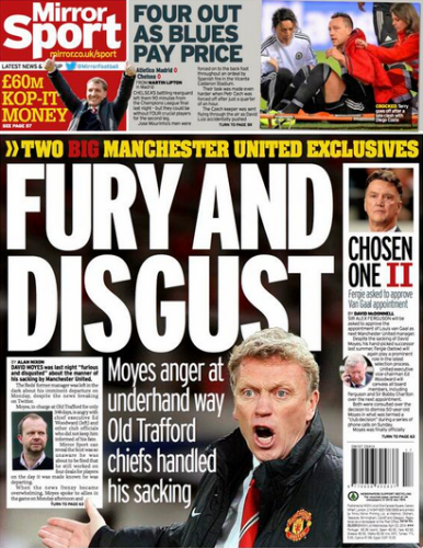 Fury and Disgust