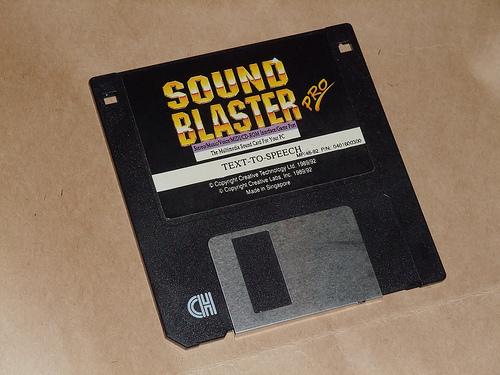 Sound Blaster Pro - Text to speech