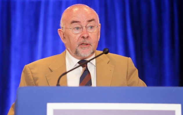 Quinn addresses TUI conference. Minist