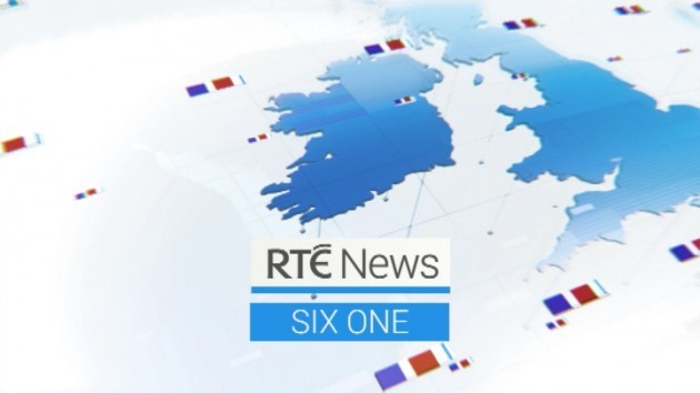 RTE Six One News new opening graphics - 26 April 2014