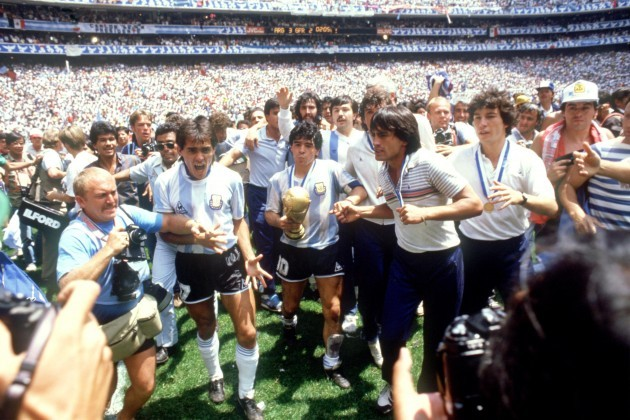 Soccer - World Cup Mexico 86 - Final - Argentina v West Germany
