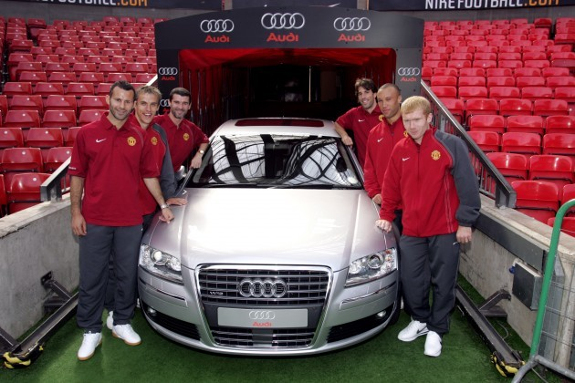 Soccer - FA Barclays Premiership - Manchester United - Announcement of Manchester United and Audi Partnership