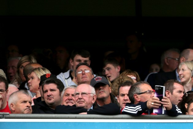 Roy Keane at the the game