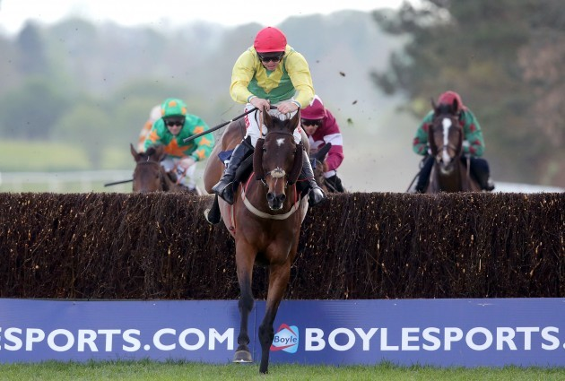Andrew Lynch on the way to winning on Sizing Europe