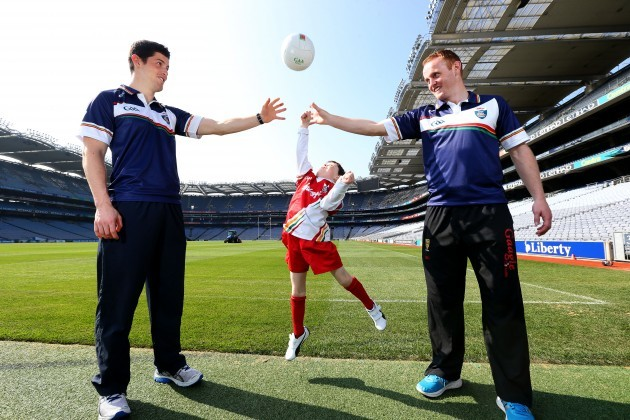 Rory O'Carroll and Benny Coulter with Finian Malone