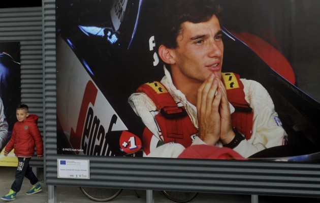 Italy F1 Senna 20 Years
