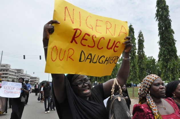 APTOPIX Nigeria Kidnapped Girls