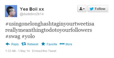 one longhashtag