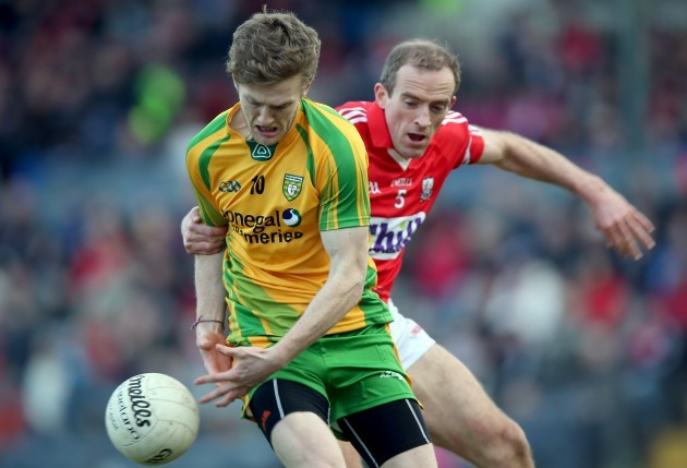 Ross Wherity and Paudie Kissane