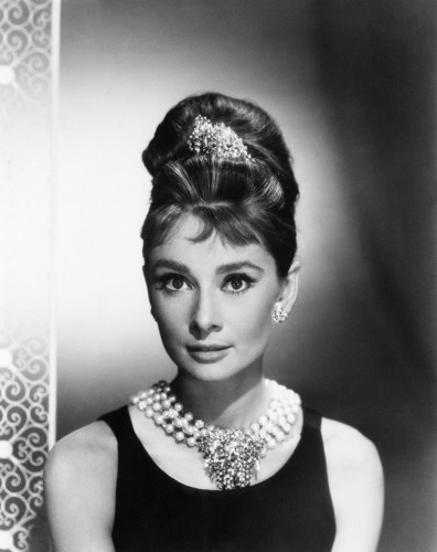 Actress Audrey Hepburn
