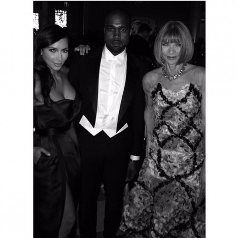 Thank you Anna for beautiful evening #MetBall #Vogue