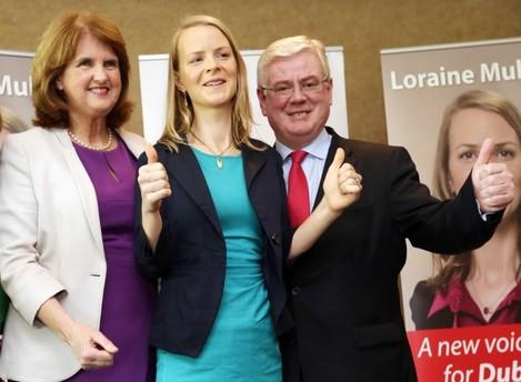 Loraine Mulligan campaign launch. (Lto