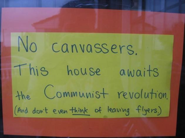 canvasserscommunist