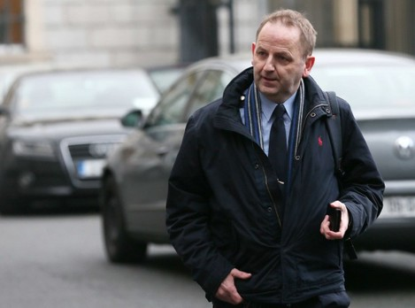 File Photo Taoiseach Enda Kenny told the Dail this afternoon Mr Shatter had resigned following receipt of the report of Sean Guerin into allegations made by Sergeant Maurice McCabe.