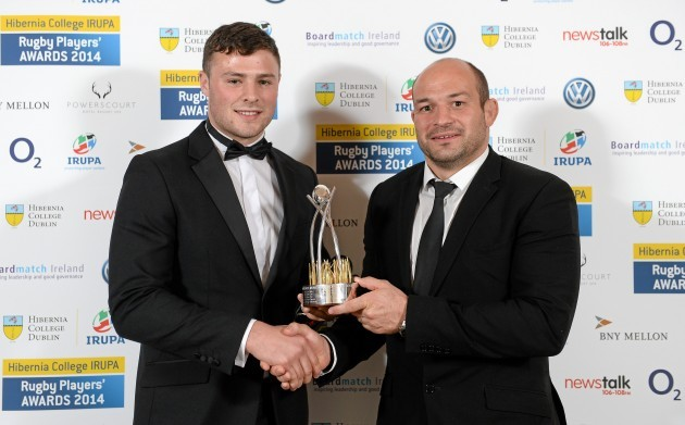 Hibernia College IRUPA Rugby Player Awards 2014