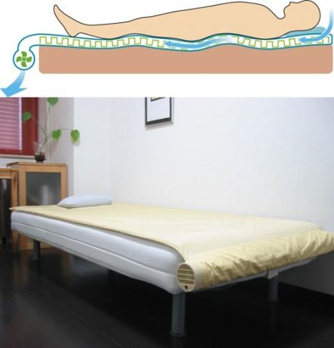 kuchofuku-air-conditioned-bed-japan