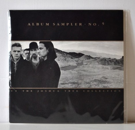 U2 'The Joshua Tree Collection - Album Sampler No. 5' Vinyl (FRONT)