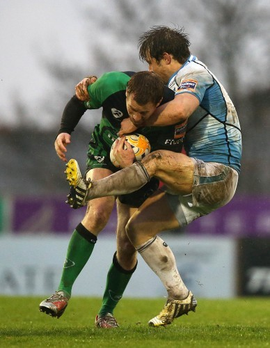 Connacht's  Gavin Duffy