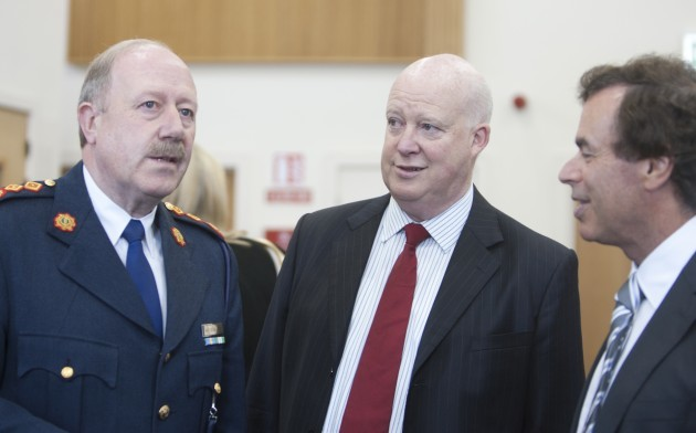 File Photo Enda Kenny said he felt it was his duty to send a senior official, secretary general of the Department of Justice Brian Purcell, to Garda Headquarters to meet Martin Callinan. Asked if Mr Purcell had been instructed to ask Mr Callinan to resign