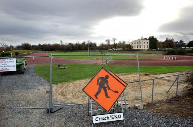 UCD athletic track