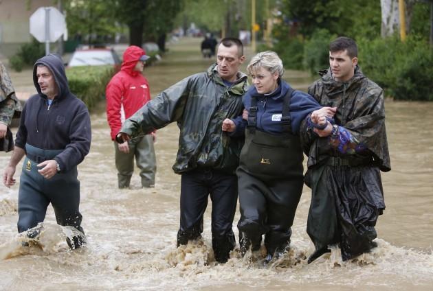 Bosnia Balkans Floods