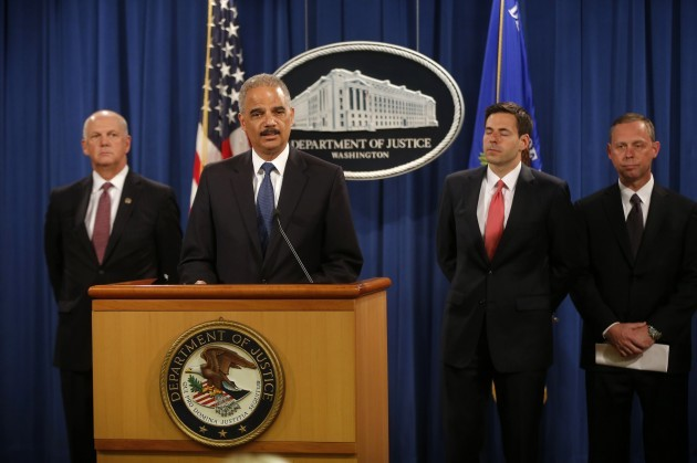 Eric Holder, John Carlin, David Hickton, Robert Anderson