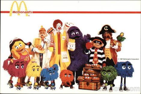 McDonald's Characters