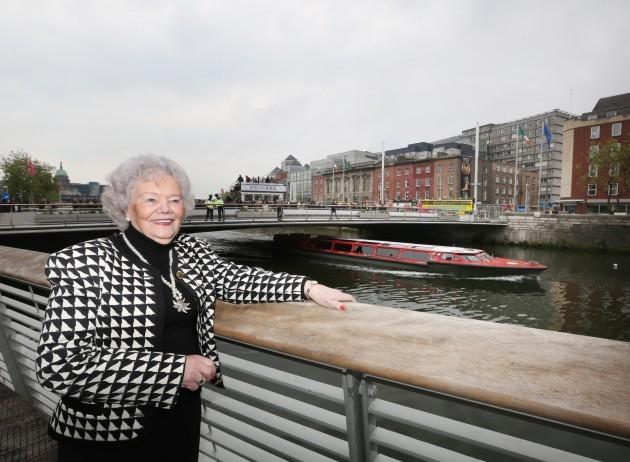Opening - Rosie Hackett bridge in Dubl