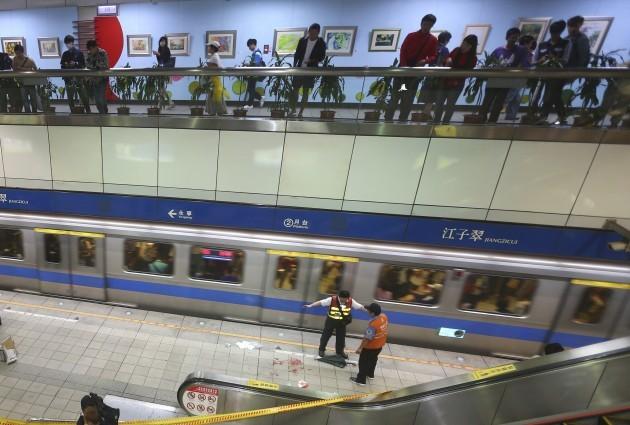 Taiwan Subway Stabbing