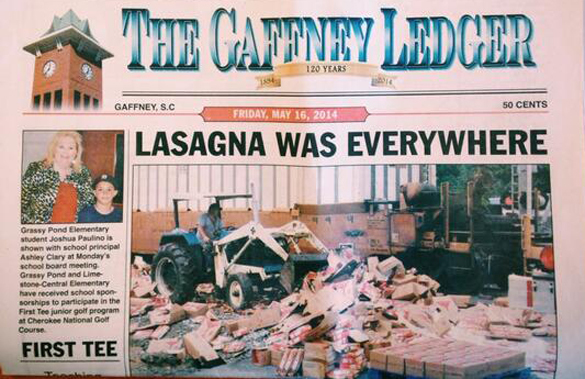 lasagne everywhere