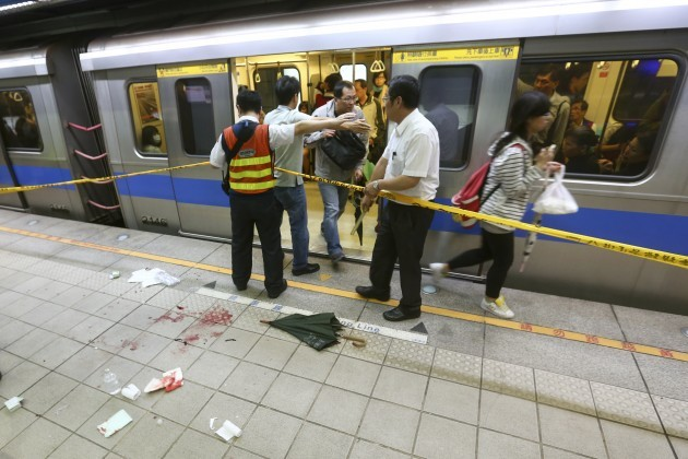 Taiwan Subway Stabbings