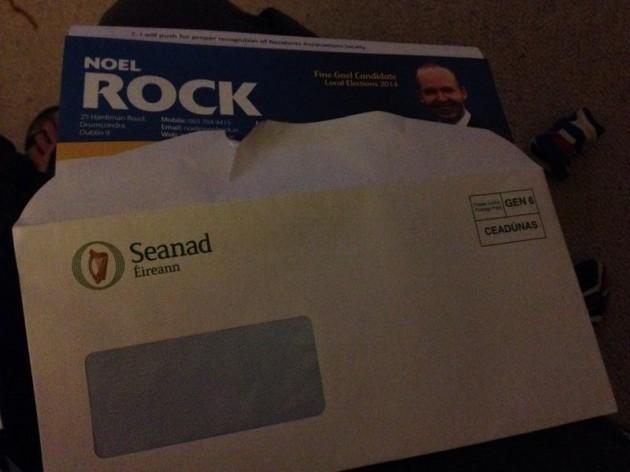 seanad envelope noel rock