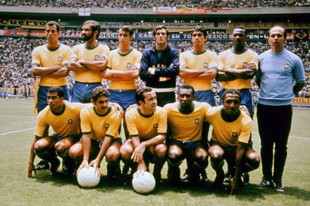 Soccer - World Cup Mexico 1970 - Group 3 - Brazil v England