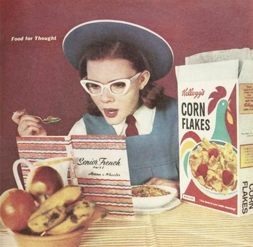1962 Kellogg's Cornflakes advertisement