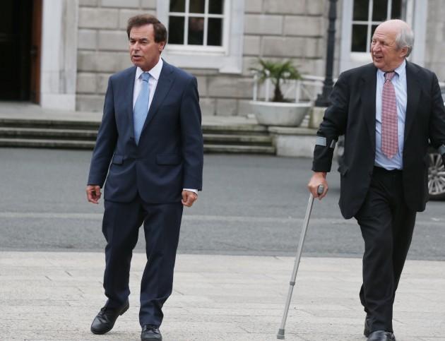 Former minister for justice Alan Shatter