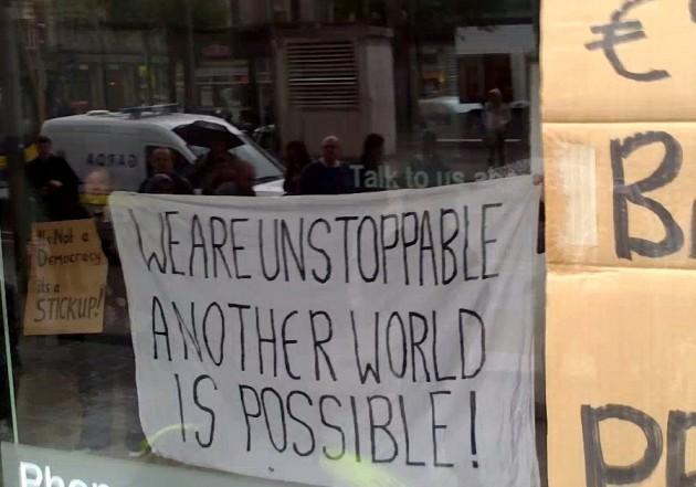 occupy dame st boi