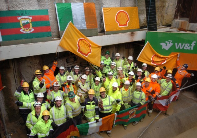 Shell - Ireland's Longest Tunnel Com[pleted