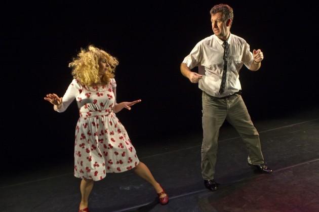 Lead Image Steve Blount and Janet Moran in Fishamble's Swing, photo by Pat Redmond 10