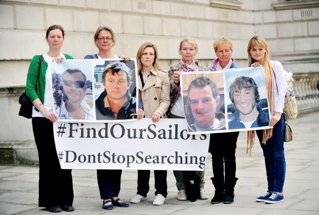 Missing British yachtsmen
