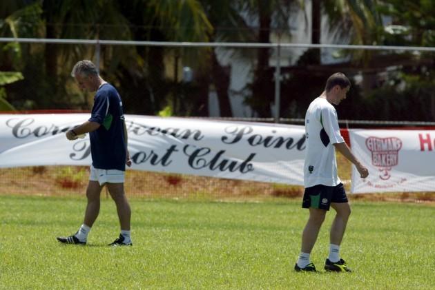 Mick McCarthy and Roy Keane DIGITAL