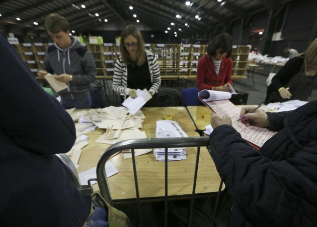 Counting the Votes. European and Local