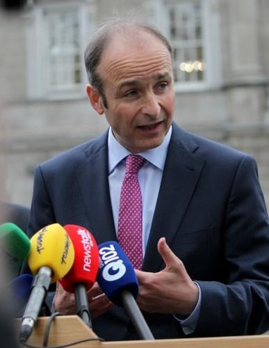 Fianna Fails Reaction Shatter Resignation
