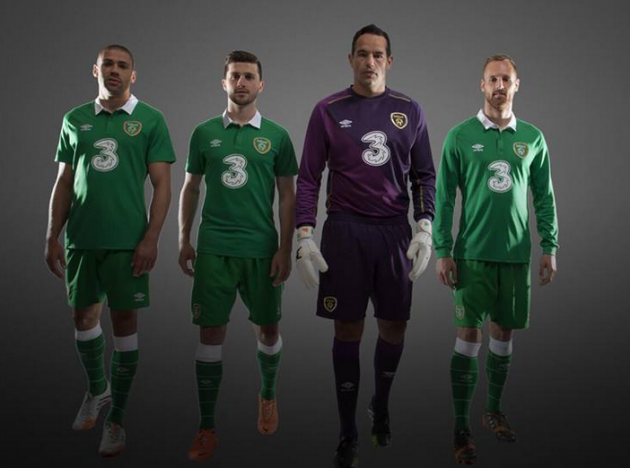 This is the new jersey Ireland will wear against Turkey today · The42 4a8eddd33