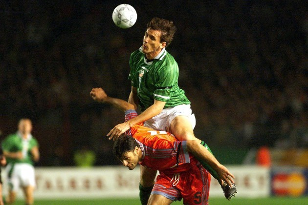 Tony Cascarino and Alpay Ozalan 13/11/1999 DIGITAL