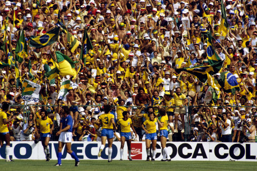 The Cult World Cup Teams We Loved Brazil 1982 The42