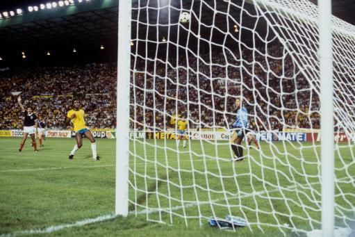 Soccer - World Cup Spain 1982 - Group Six - Brazil v Scotland - Benito Villamarin Stadium, Seville