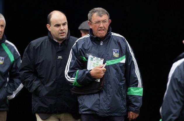 Liam Lenihan and Mike O'Riordan