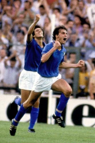 Soccer - FIFA World Cup Final 1982 - Italy v West Germany - Santiago Bernabeu Stadium